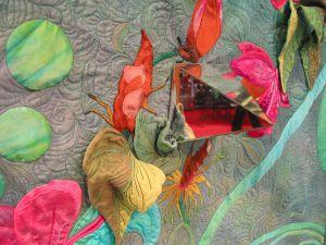 Detail Spiegelelement Wandbehang